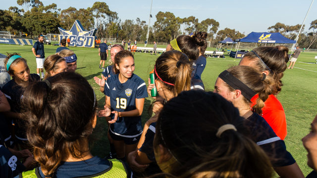 UCSD Soccer NCAA Award