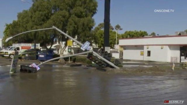 Flooding Midway Pipe Break