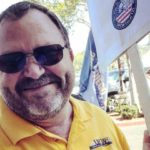 UFCW Local 135 President Todd Walters took part in informational picketing outside a Ralphs on Wednesday.