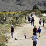 Anza-Borrego Desert State Park hikers.