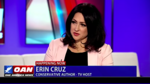 Erin Cruz, a current candidate for Congress in the 36th District, was first to get state permission to circulate recall petitions.