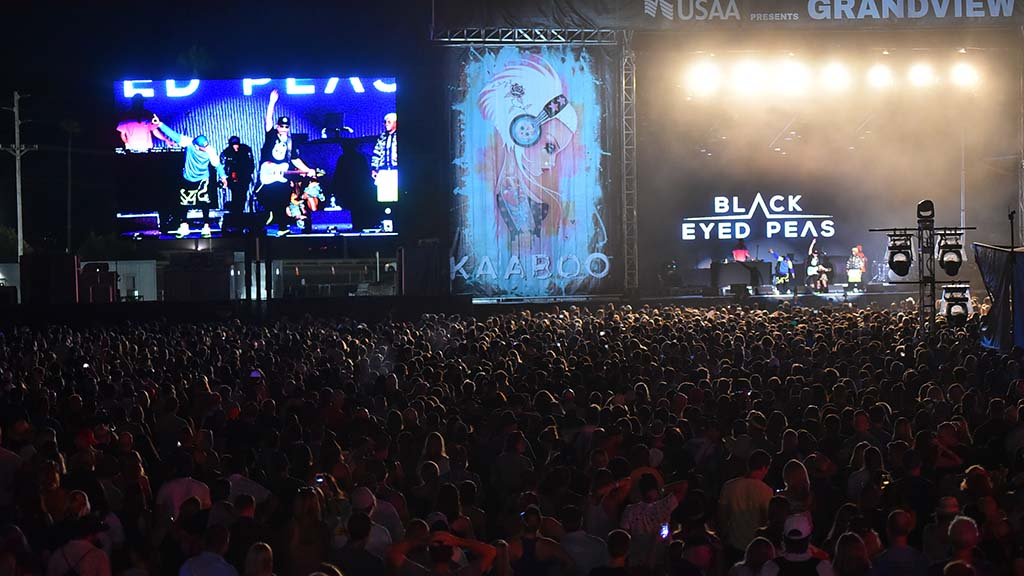 Black Eyed Peas performs at the Grandview stage at KAABOO Del Mar.
