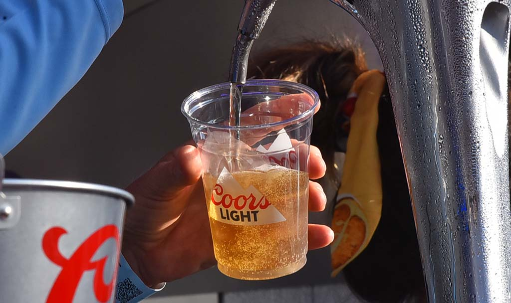 Beer was flowing was temperatures and humidity climbed throughout the weekend at KAABOO Del Mar.