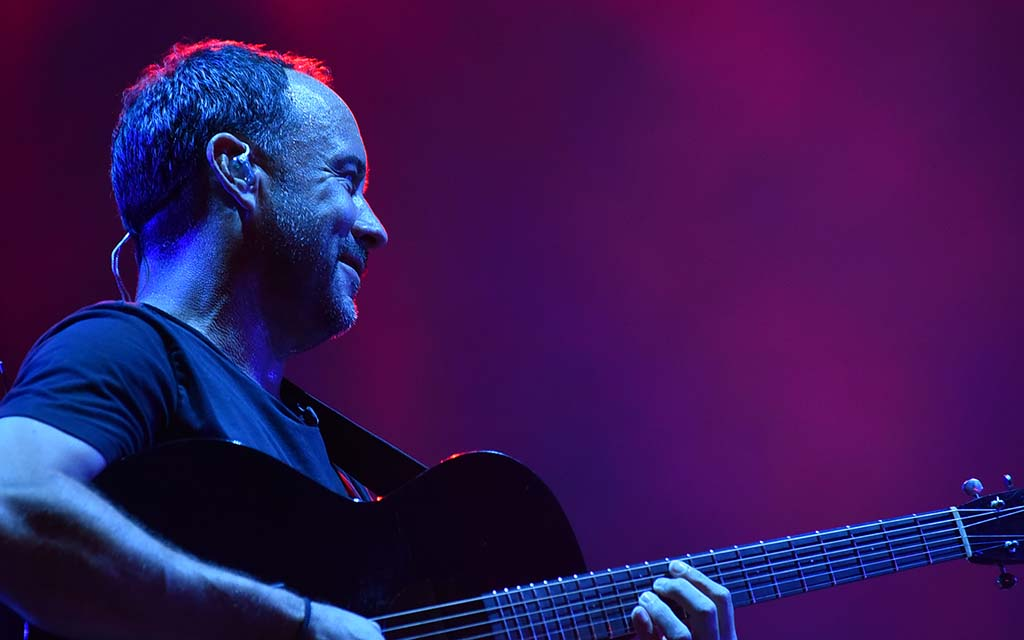 Dave Matthews performs at the Sunset Cliffs stage at KAABOO Del Mar.