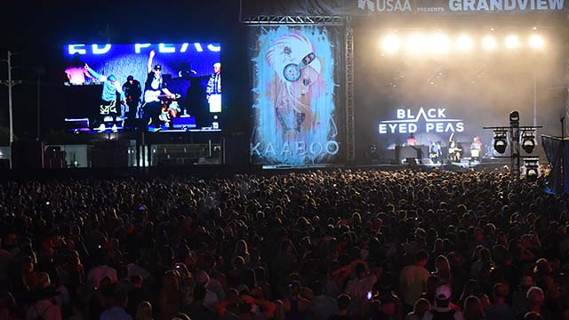 KAABOO, a music, culinary, humor and art festival, will move from Del Mar to Petco Park in September 2020. Photo by Chris Stone