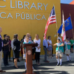 Mayor Kevin Faulconer at the opening ceremony for the San Ysidro library