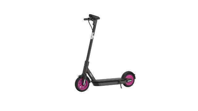 Lyft dockless scooter