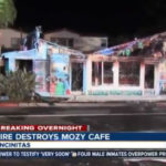 Mozy Cafe after the fire