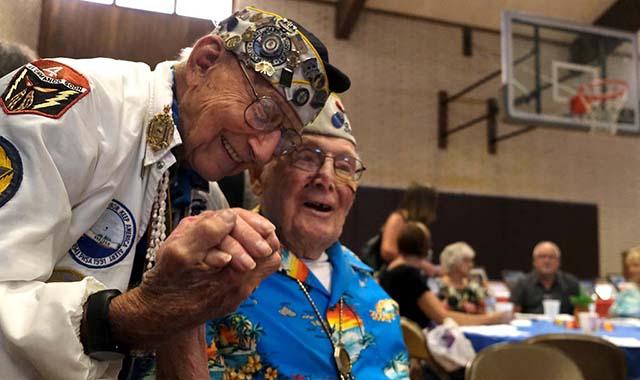 Pearl-Harbor-Überlebenden Spielen, Tippt: 2 Halten Endgültigen US-Meeting in La Mesa