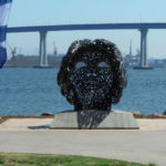 The statue's view toward the Coronado Bridge