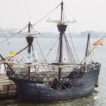 A replica of the Victoria from Magellan's fleet