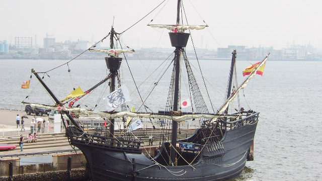A replica of the Victoria from Magellan's fleet