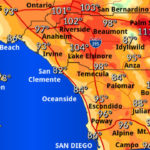 Forecast high throughout Spouthern California
