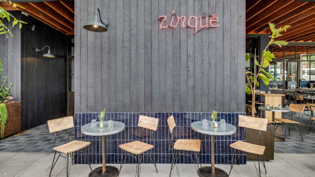 Zinqué restaurant in Little Italy