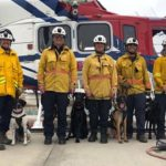 Members of Urban Search & Rescue Task Force 8 of the San Diego Fire-Rescue Department.
