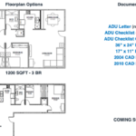 Examples of floor plans being made available for free by San Diego County.
