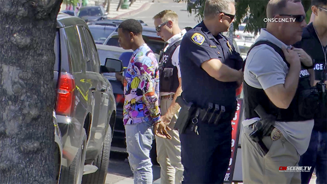 San Diego police detain a man amid City Heights SWAT activity