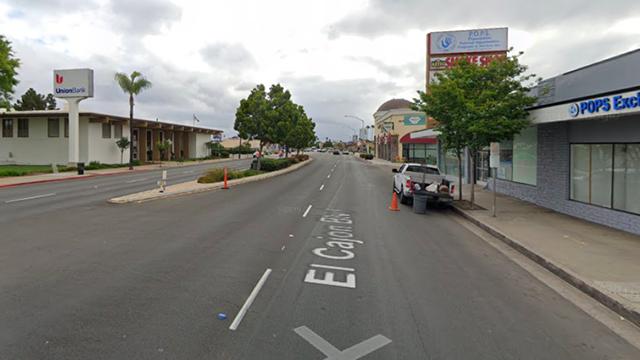 Wanita, 61, Melintasi El Cajon Blvd. di El Cerrito Terluka Parah oleh Corolla