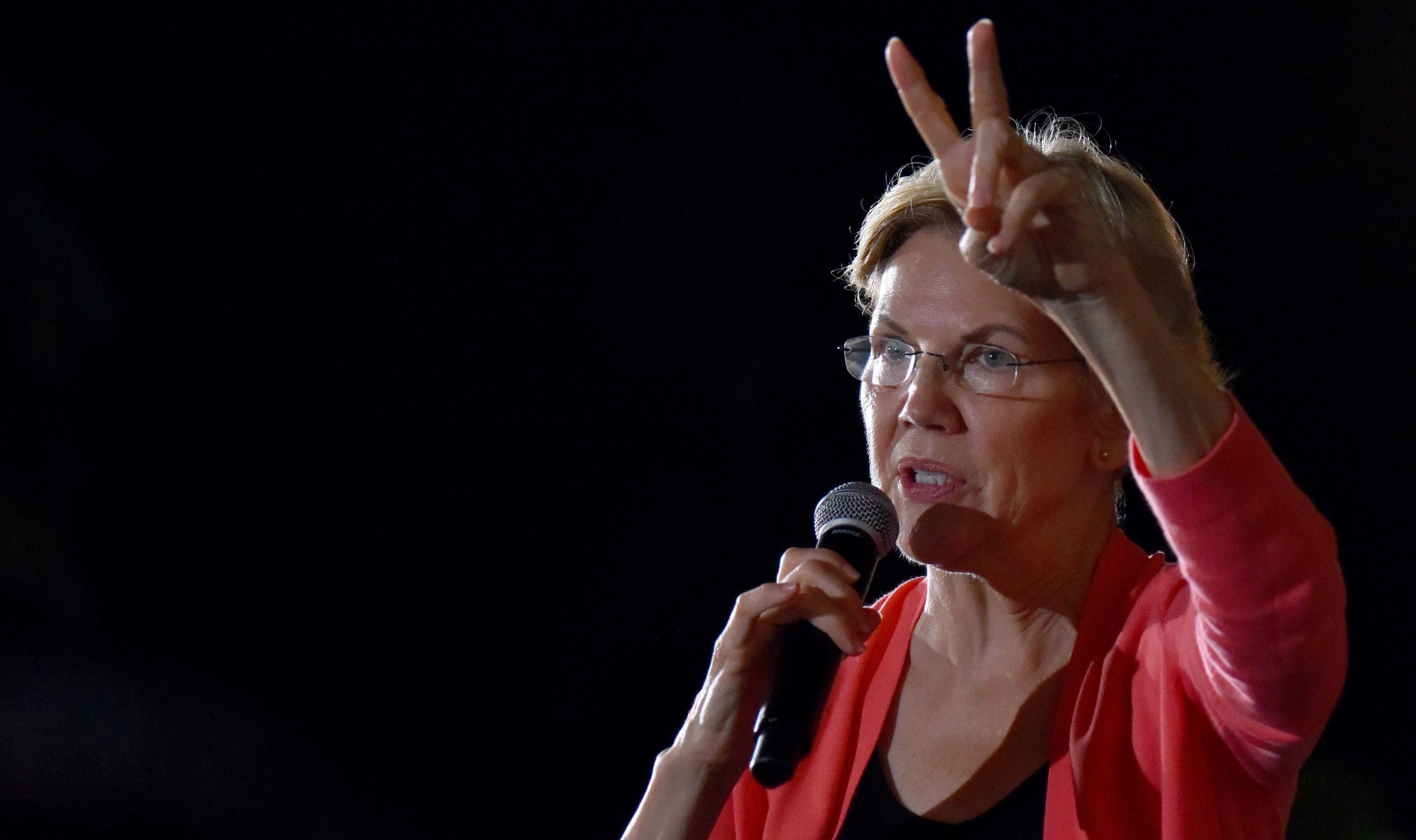 Sen. Elizabeth Warren signals her plan for a 2% wealth tax on every dollar over $50 million.
