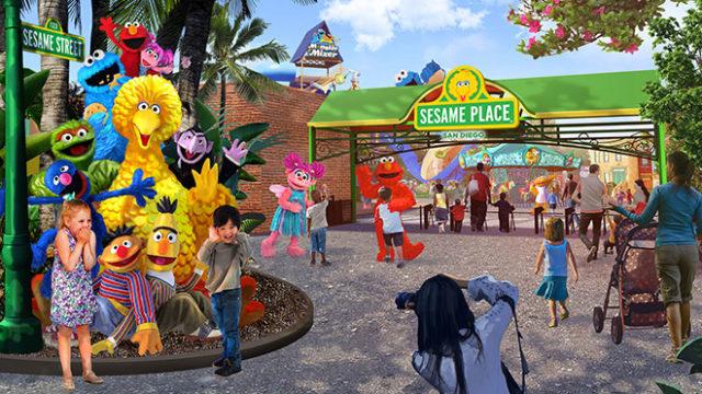 Sesame Place theme park.