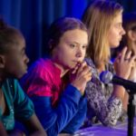 Greta Thunberg at UNICEF
