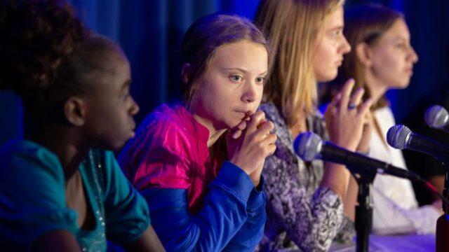 Greta Thunberg at UNICEF