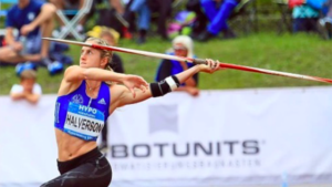 Allison Halverson of San Diego competed in May at the IAAF World Combined Events Challenge in Götzis, Austria, won by eventual IAAF world champion Katarina Johnson-Thompson.