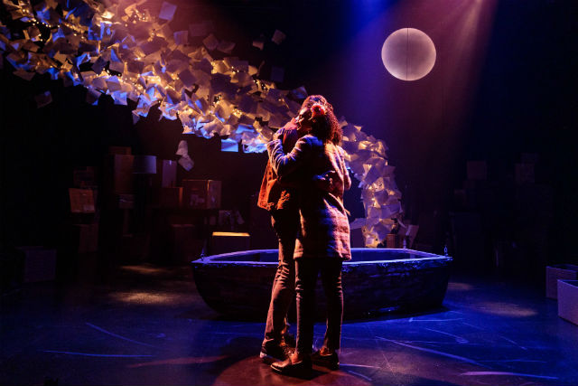 "Michael Louis Cusimano and and Racquel Williams in ""The Last Five Years"""