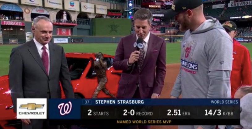 2. 2019 Azteken-MVP: Stephen Strasburg, Dauert Ehre Als Staatsbürger Gewinnen World Series