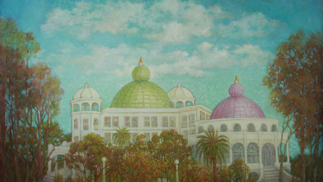 Painting of the Theosophical Institute Buildings in Point Loma