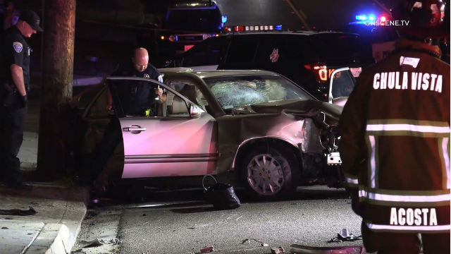 San Diego Mercedes >> Authorities Id Driver Killed In Crash During Pursuit In