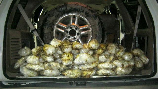 Meth bundles found inside SUV stopped on Interstate 8