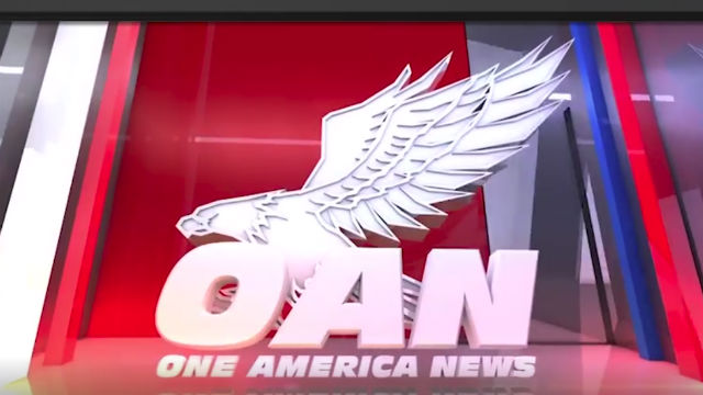 Promotion image from One America News Network's Facebook page