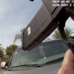 Image from police-worn body camera at San Ysidro shooting