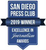 2019 San Diego Press Club Award Winner
