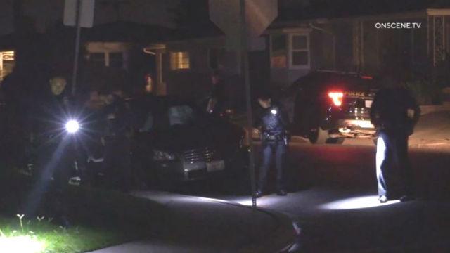 ショットの力を借人負傷者が自宅近SDSUキャンパス