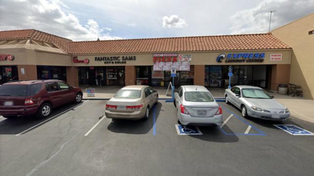 Giant Bambino's Pizza restaurant.