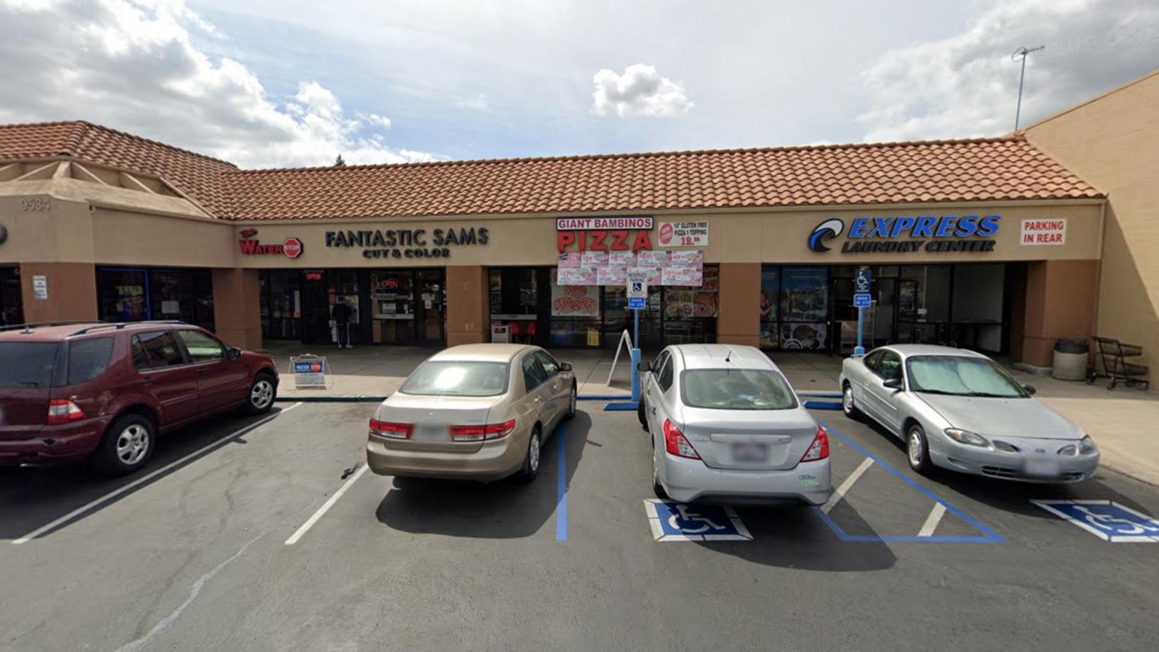 SUV Διακόπτεται Μέσω Βιτρίνα Του Παραλίμνιο Εστιατόριο Pizza, Όταν ο Οδηγός Χάνει τον Έλεγχο