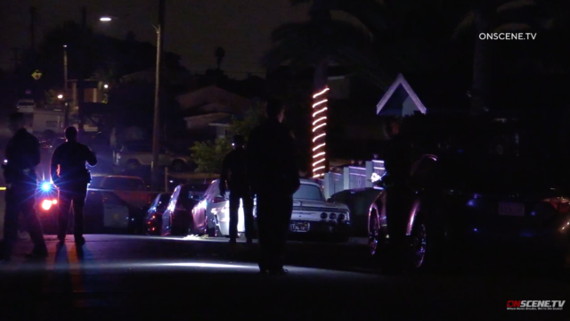 Scene of a shooting in Paradise Hills.
