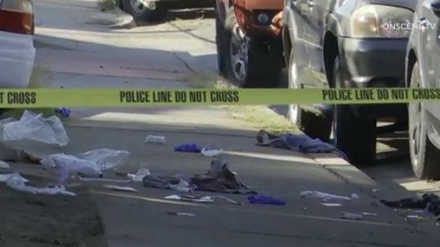男性死亡、負傷しShelltown近撮影