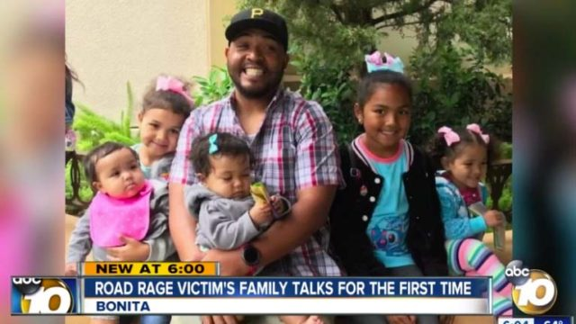 Horace Williams Jr., victim of South Bay killing, with his five children.