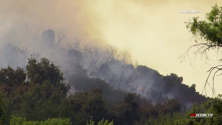 Evakuierung Aufträge Aufgehoben Für Valley Center Miller Feuer