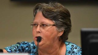 """Jilanne """"Jill"""" Barto alleges First Amendment and civil rights violations by fellow Cajon Valley school board members and the district superintendent."""