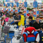 Black Friday shopping at Walmart