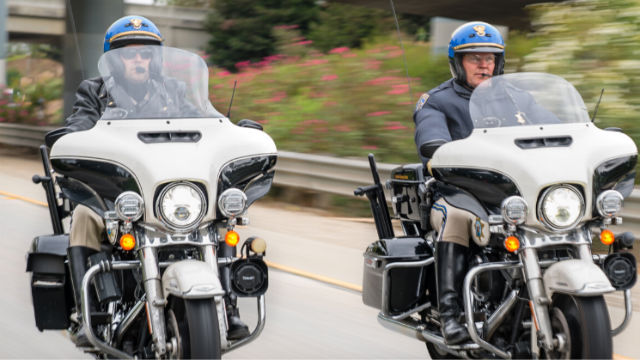 CHP motorcycle officers