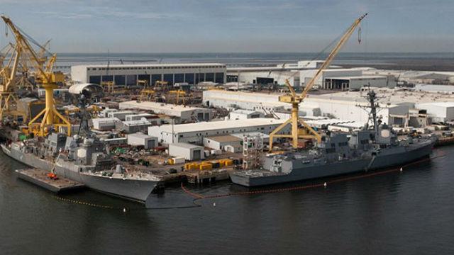 Marine Legt Kiel für das Erste Schiff im Neuen Flug Standbein Arleigh-Burke-Zerstörer
