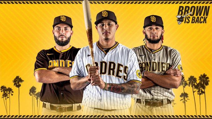 #BrownIsBack δεν Είναι Μόνο Για Νέες Στολές Για Padres, Αλλά το