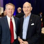 Ernest Rady and Patrick Frias