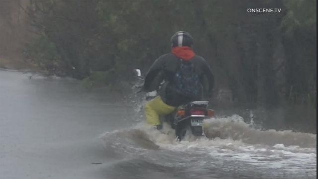 Flooding in Otay Mesa