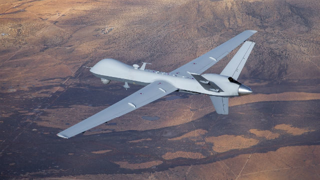MQ-9 Predator B over Southern California